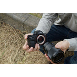 Sony ILCE-7S II Full-Frame  Mirrorless Interchangeable Lens Camera Body Only with ISO upto 409600  (Black)