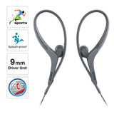 Sony MDR-AS410AP in-Ear Active Sports Headphones with Mic (Black)