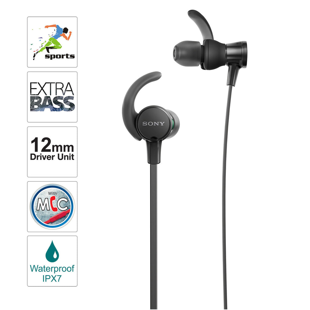 Sony MDR-XB510AS Extra Bass Sports in-Ear Headphones