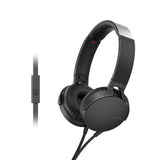 Sony Extra Bass MDR-XB550AP On-Ear Headphones with Mic