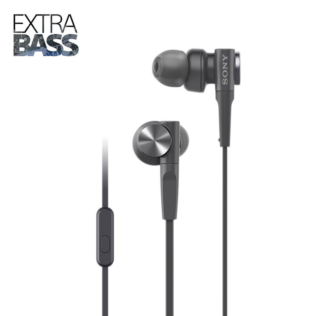 Sony MDR-XB55AP in-Ear Extra Bass Headphones with Mic
