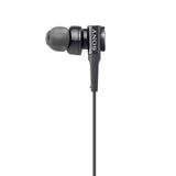 Sony MDR-XB75AP in-Ear Extra Bass Headphones with Mic (Black)