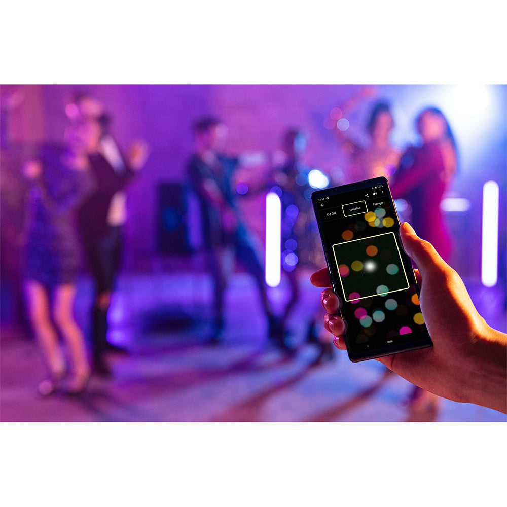Sony MHC-V73D High Power Audio System with Bluetooth Technology(Karaoke,Gesture Control, Party Light, Taiko)