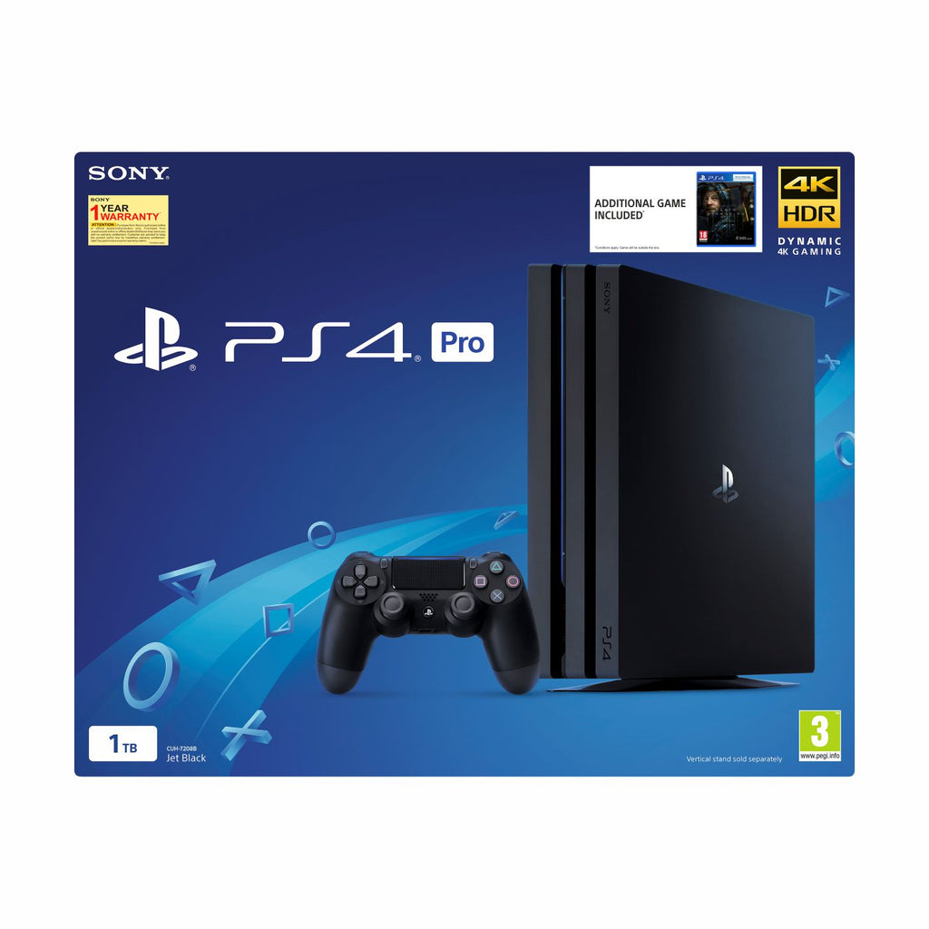 PS4 Pro 1TB with Death Stranding Software