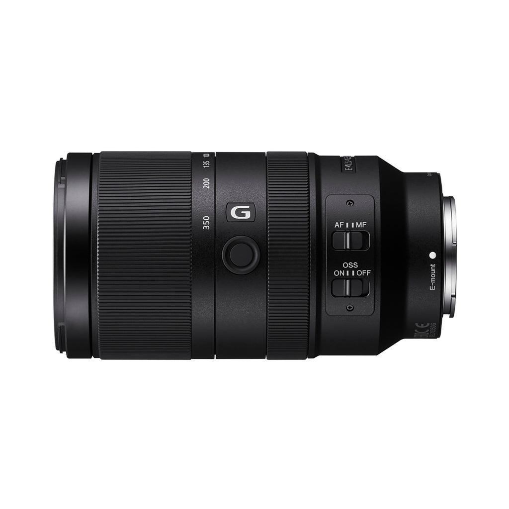 Sony E 70–350 mm F4.5–6.3 G OSS E-mount Lens