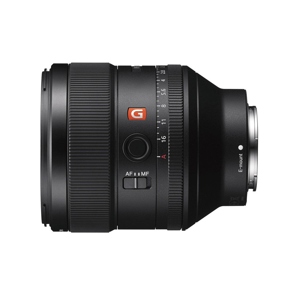 Sony SEL85F14GM E Mount - Full Frame 85mm F1.4 G Master Lens (Black)