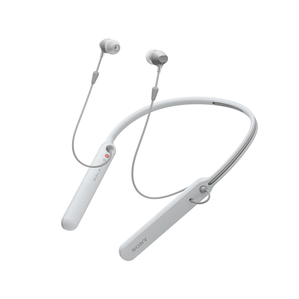 Sony WI-C400 Wireless Bluetooth Neckband in-Ear Headphones with Mic, 20 Hours Battery Life, and Light Weight