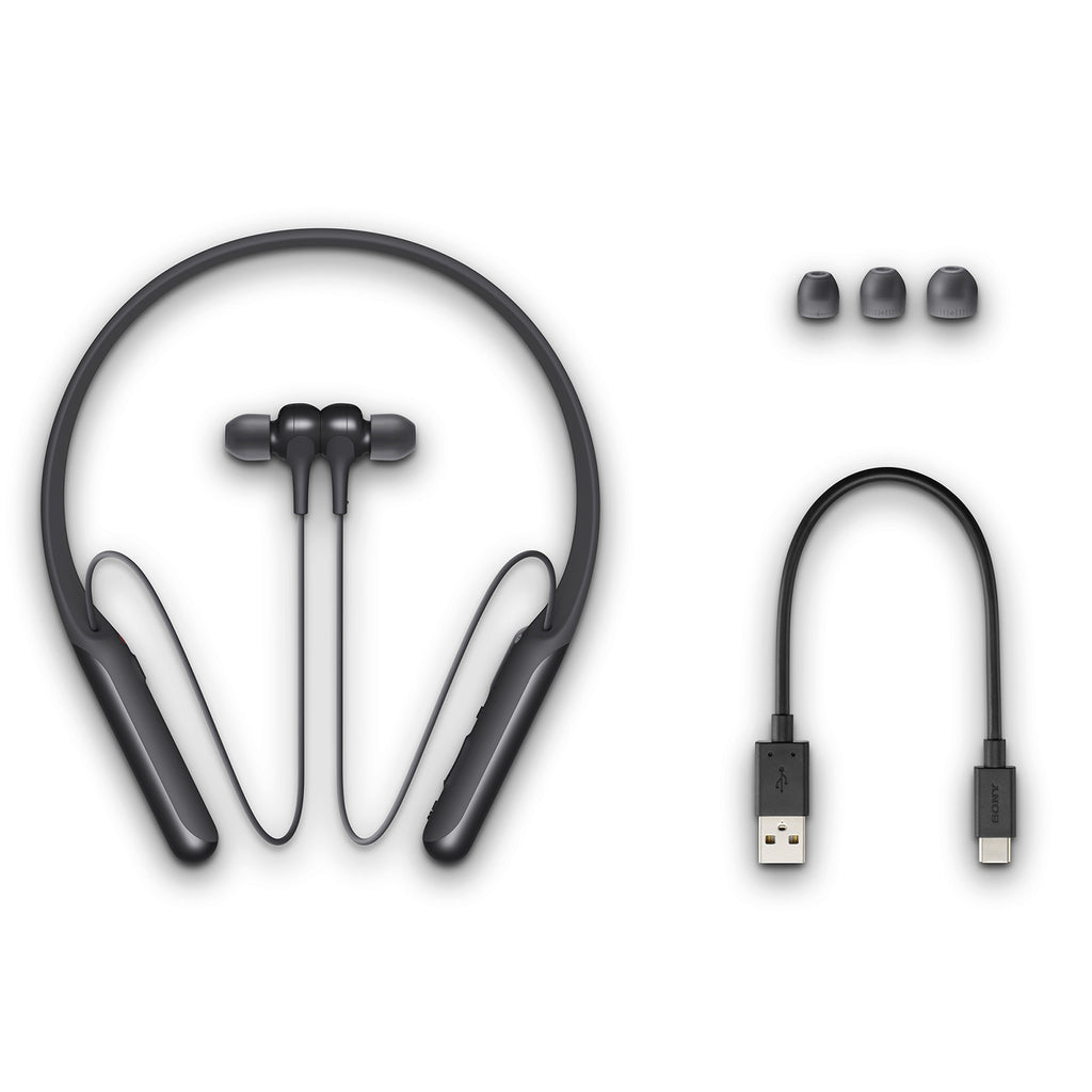 Sony WI-C600N Wireless Digital Noise-Cancelling in-Ear Neck-Band Headphones (Black)
