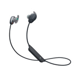 Sony WI-SP600N Wireless Sports Headphones with Noise Cancelling and IPX4 Splash Proof (Black)