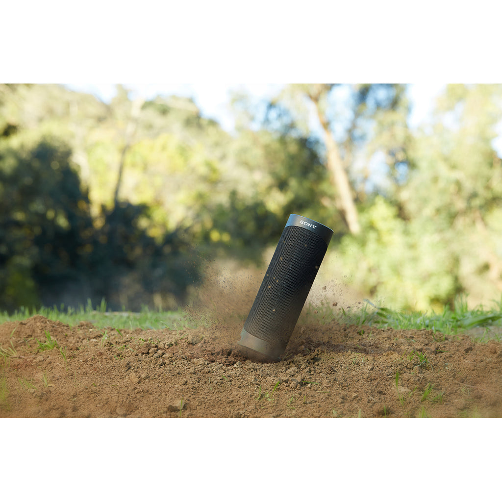 Sony SRS-XB23 Wireless Extra Bass Bluetooth Speaker with 12 Hours Battery Life, Party Connect, Waterproof, Dustproof, Rustproof, Speaker with Mic, Loud Audio for Phone Calls