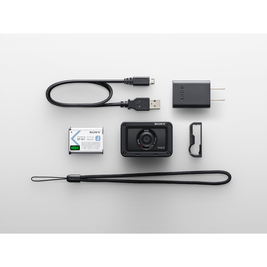 RX0 II premium tiny tough camera