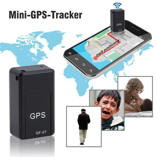 GPS Tracker,Magnet Mini GPS Locator Anti-Thief GPS Tracker