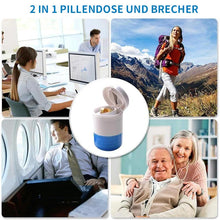 Laden Sie das Bild in den Galerie-Viewer, 2 in 1 Pillendose und Brecher