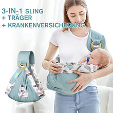 Laden Sie das Bild in den Galerie-Viewer, 3-in-1 Babytrage