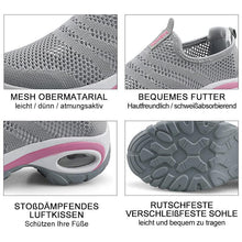 Laden Sie das Bild in den Galerie-Viewer, Damen Atmungsaktive Mesh Slip On Turnschuhe