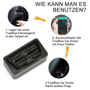 TrueBlue Car Doctor super mini OBD2 elm327 Bluetooth-Detektor