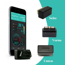 Laden Sie das Bild in den Galerie-Viewer, TrueBlue Car Doctor super mini OBD2 elm327 Bluetooth-Detektor