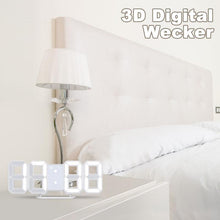 Laden Sie das Bild in den Galerie-Viewer, Digitaler Wecker der intelligenten Stereouhr 3d