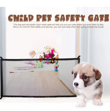 Load image into Gallery viewer, CHILD & PETS SAFTEY MESH GATE
