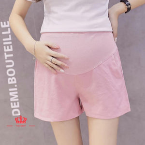 Spandex Maternity High-Waist Short ( BUY 1 GET 1)