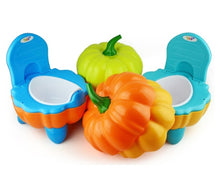 Load image into Gallery viewer, Pumpkin Portable Potty Chair Trainer