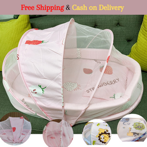 ANTI MOSQUITO BABY BED SET