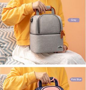 2 LAYER MOMMY TRAVEL THERMAL BAG