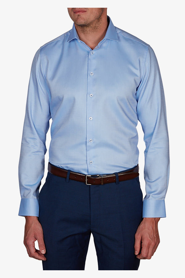 Abelard | Dolomiti Dobby Slim Fit Business Shirt Sky 38