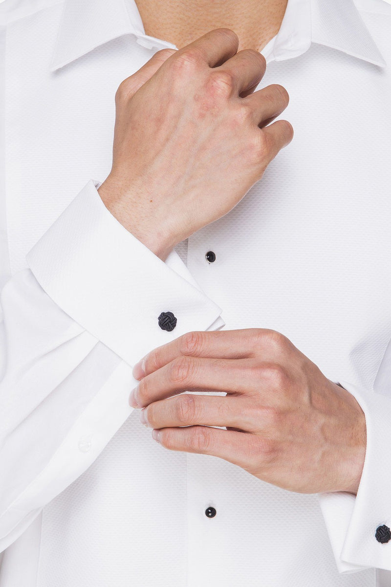 Abelard | Marcella Slim Fit Studded Dinner Shirt
