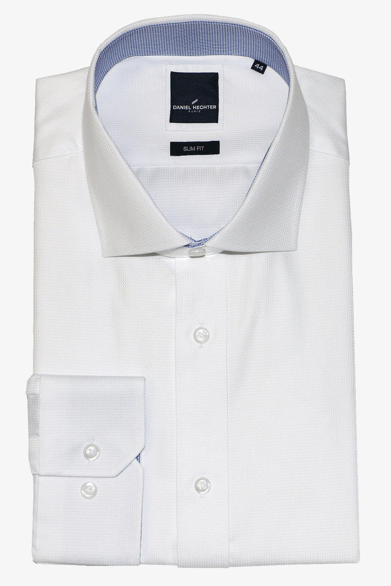 Abelard | Micro-Dobby Classic Fit Business Shirt White 40