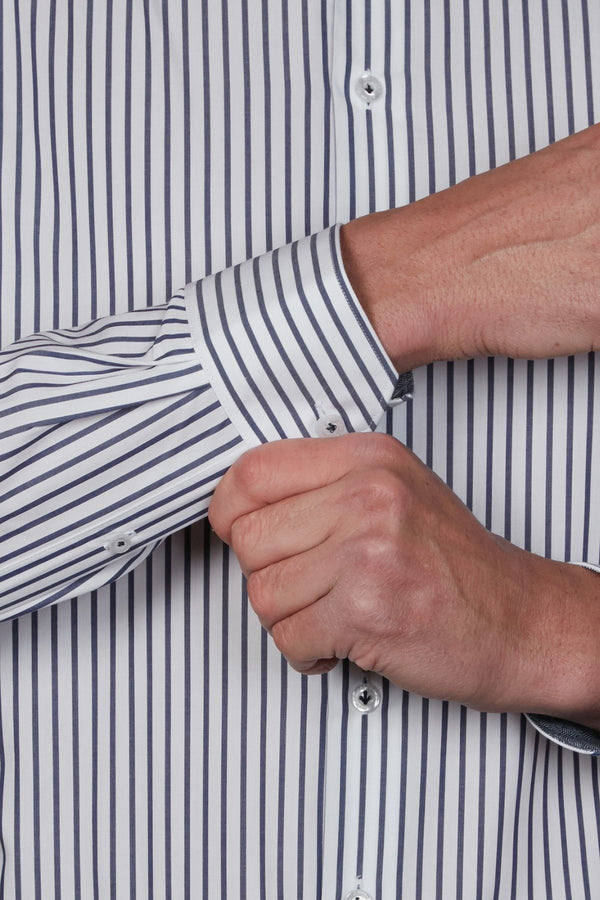 Abelard | Piazza Stripe Slim Fit Business Shirt