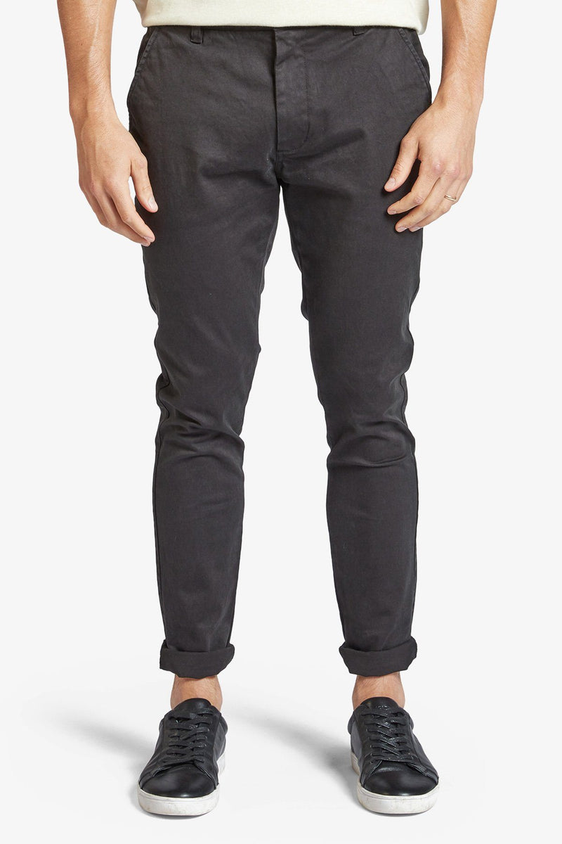 Academy Brand | Skinny Stretch Chino Black 28