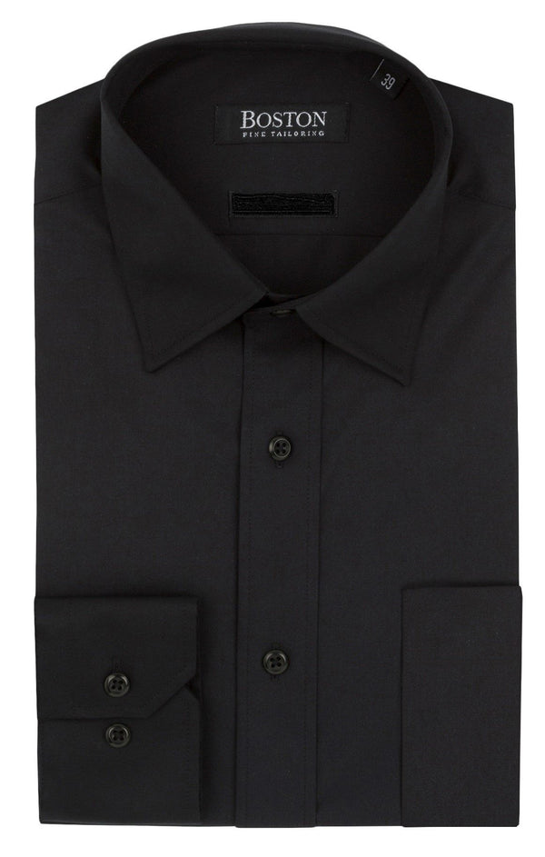 Boston | Brookes Classic Fit Business Shirt Black 37