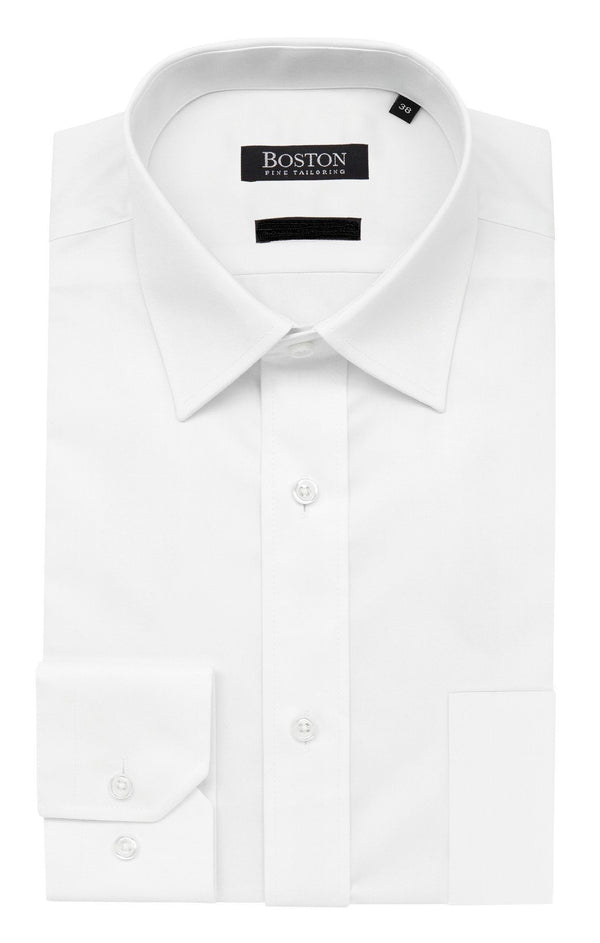 Boston | Brookes Classic Fit Business Shirt White 37