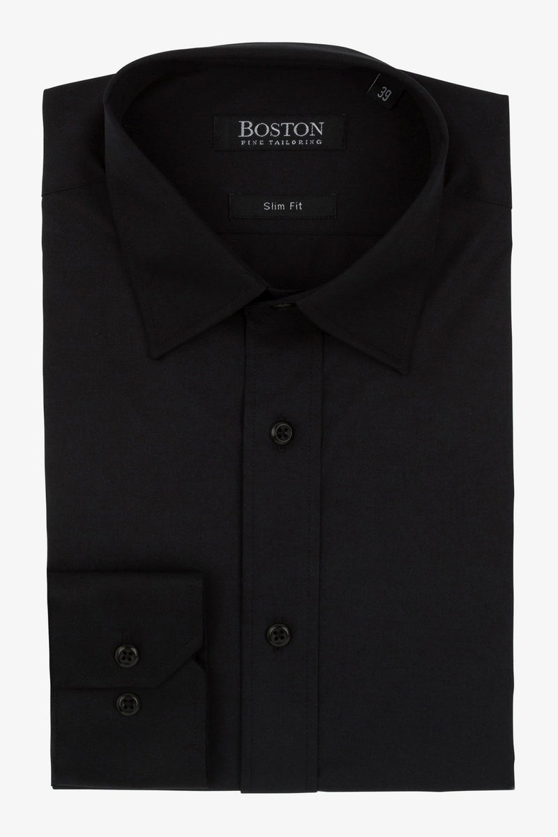 Boston | Liberty Business Shirt Black 37