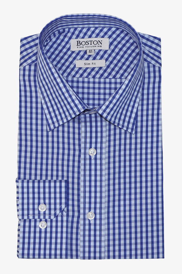 BOSTON | LIBERTY BUSINESS SHIRT Blue 37