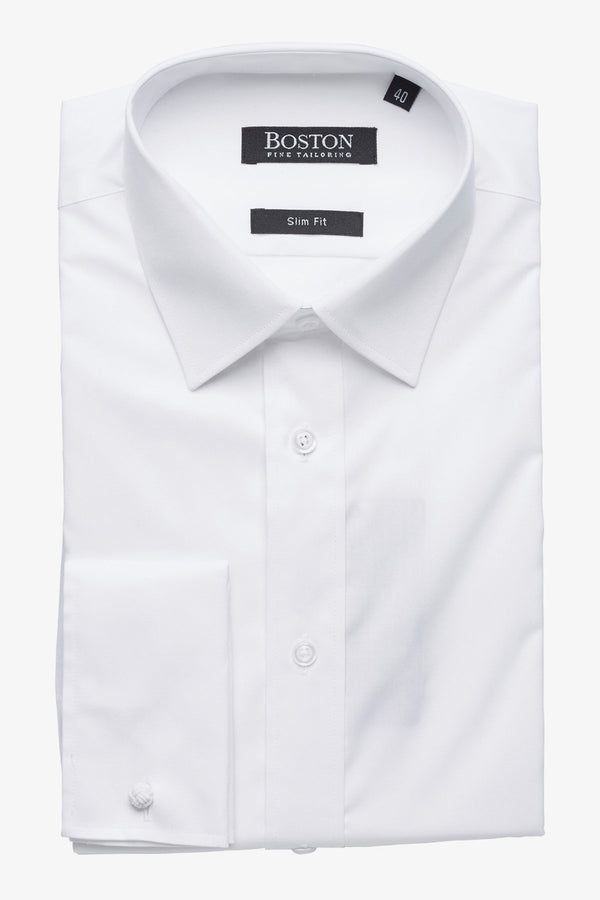 Boston | Liberty French Cuff Business Shirt White 37