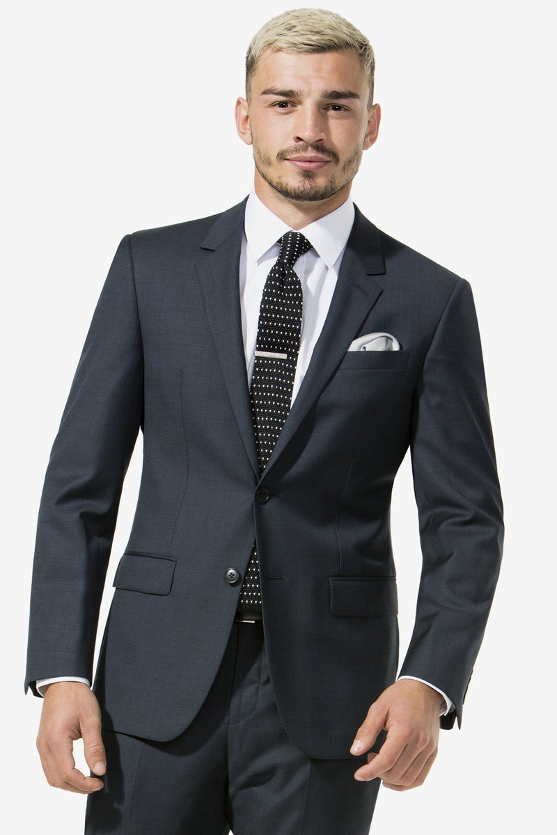 Boston | Michel Lyon 2 Trouser Suit Charcoal 100 R