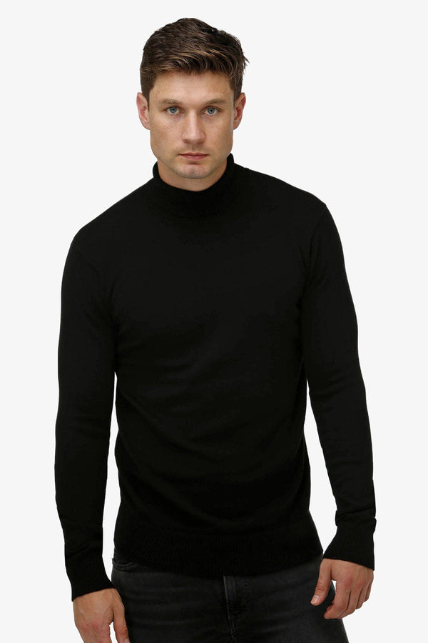 Brooksfield | Turtleneck Sweater Black S