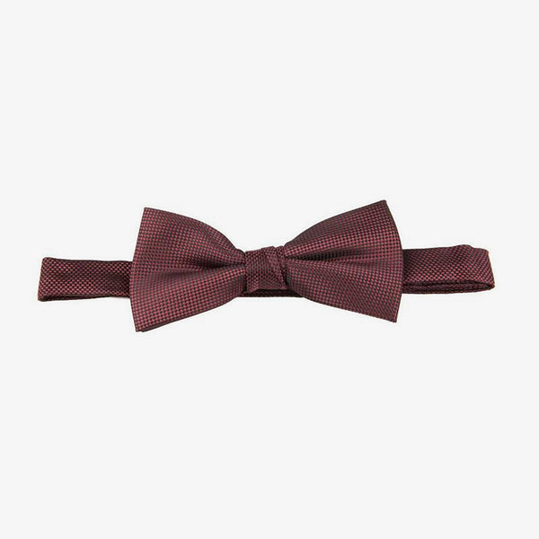 Carlo Visconti | Self pattern bow tie Burgundy ALL