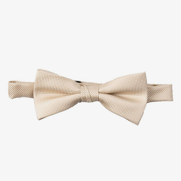 Carlo Visconti | Self pattern bow tie Champagne ALL