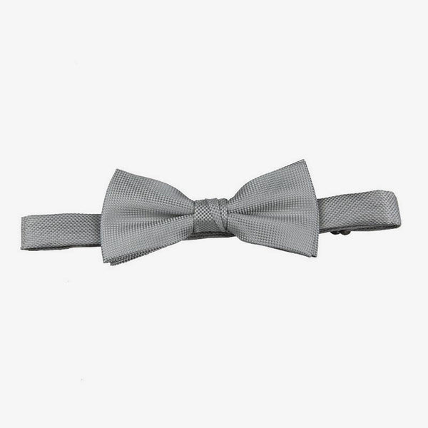 Carlo Visconti | Self pattern bow tie Platinum ALL