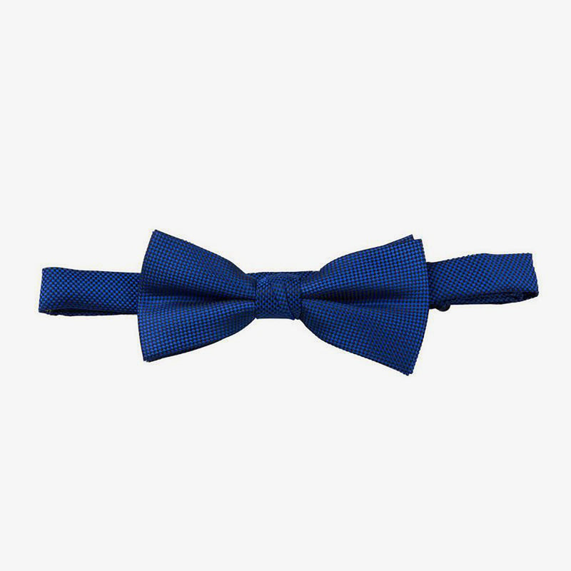 Carlo Visconti | Self pattern bow tie Royal ALL