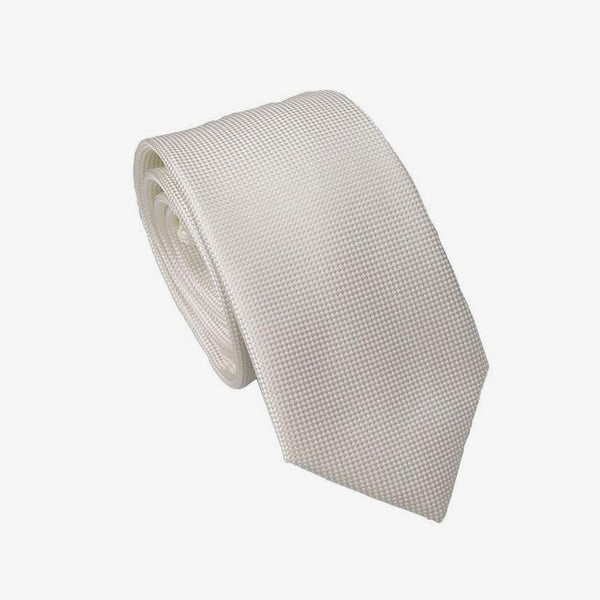 Carlo Visconti | Self pattern tie Ivory ALL