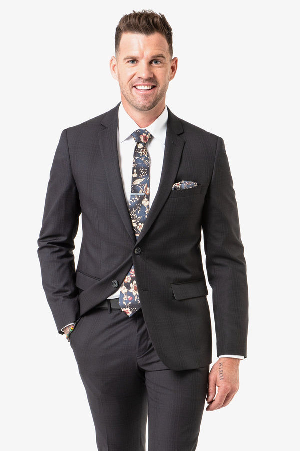 Christian Brookes | Shape Edward Suit Black/Charcoal 88 R