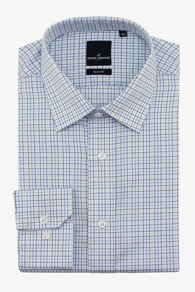 DANIEL HECHTER | LIBERTY BUSINESS SHIRT Blue 37