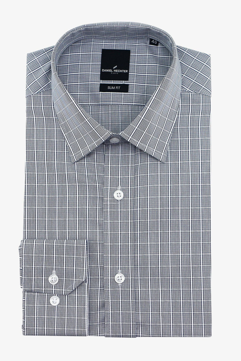 DANIEL HECHTER | LIBERTY BUSINESS SHIRT Charcoal 37