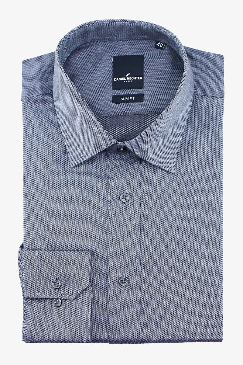 DANIEL HECHTER | LIBERTY BUSINESS SHIRT Charcoal 38