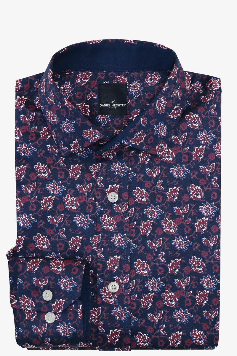 Daniel Hechter | Sel Casual Shirt Navy Red S
