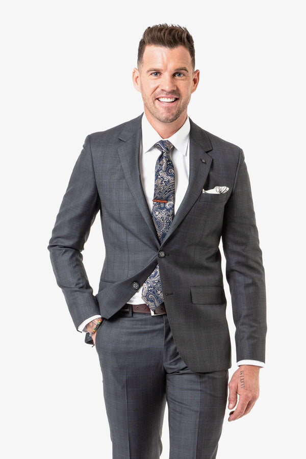 Daniel Hechter | Shape Edward Suit Charcoal 96 S